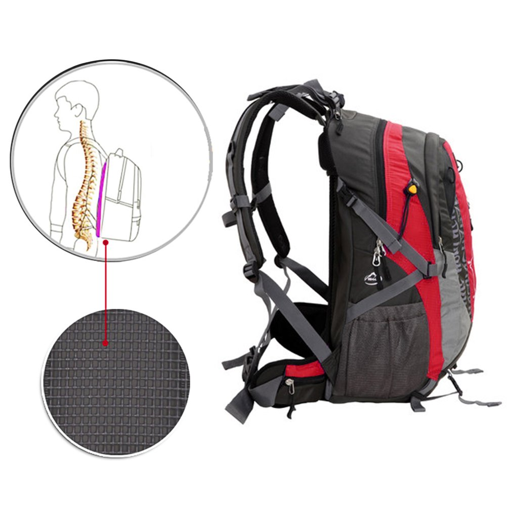 Waterproof 3D Suspension Breathable Hiking/ Mountaineering/ Camping Backpack
