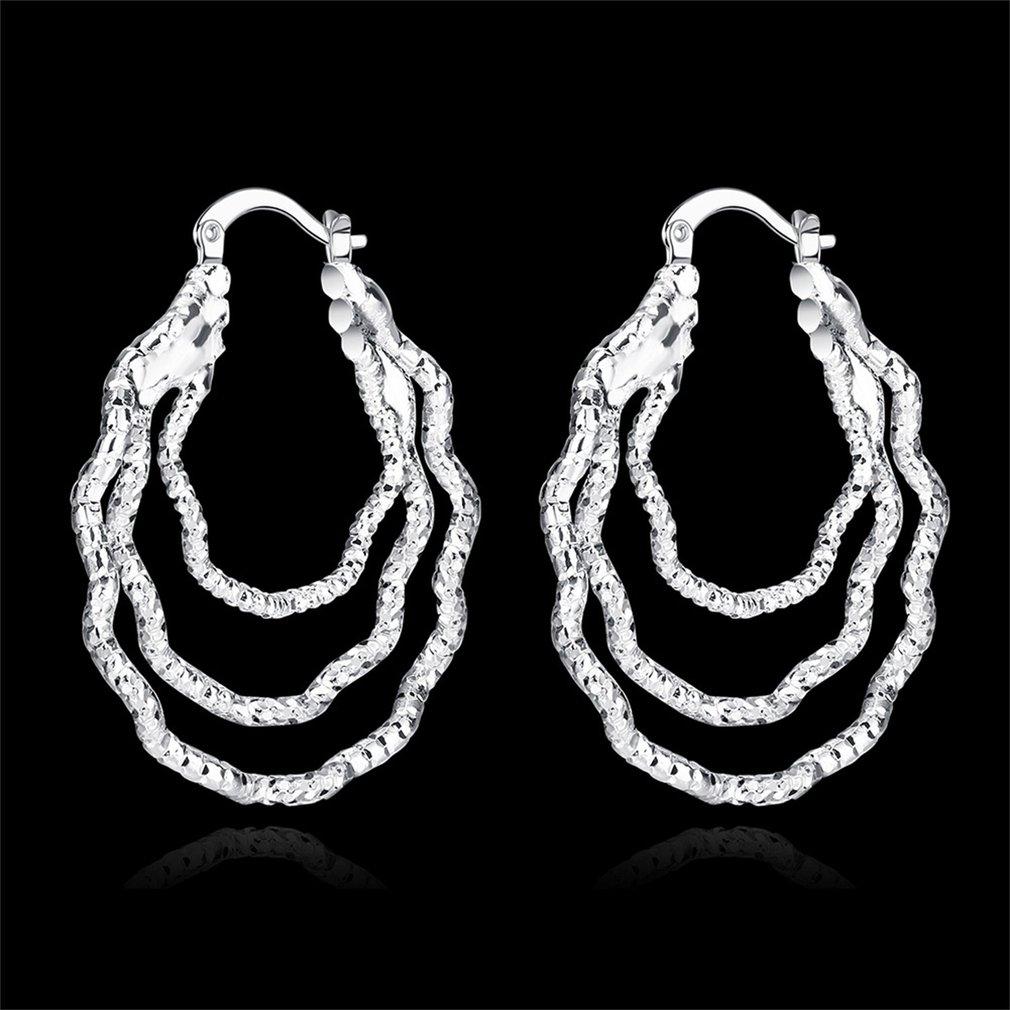 Eye-Catching Women Earring Lady Party Prom Wedding Decorative Jewelry Ornament