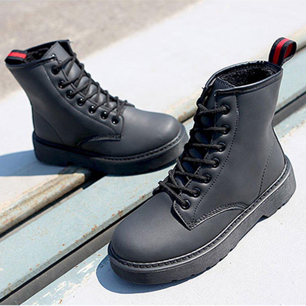 RENBEN 12110 Women Martin Boots Fashion Platform Shoes Ladies Casual Shoes