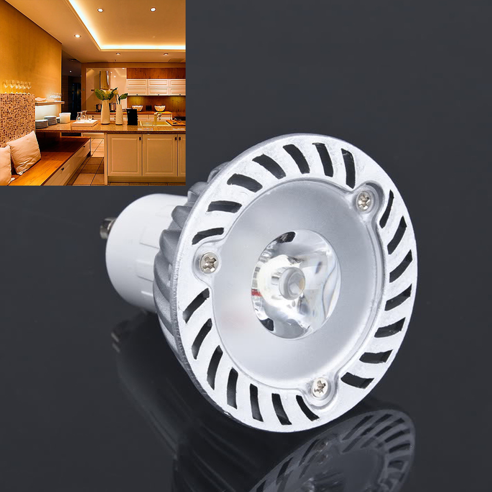 GU10 LED WARM WHITE 1*3W 85V/240V Bulb