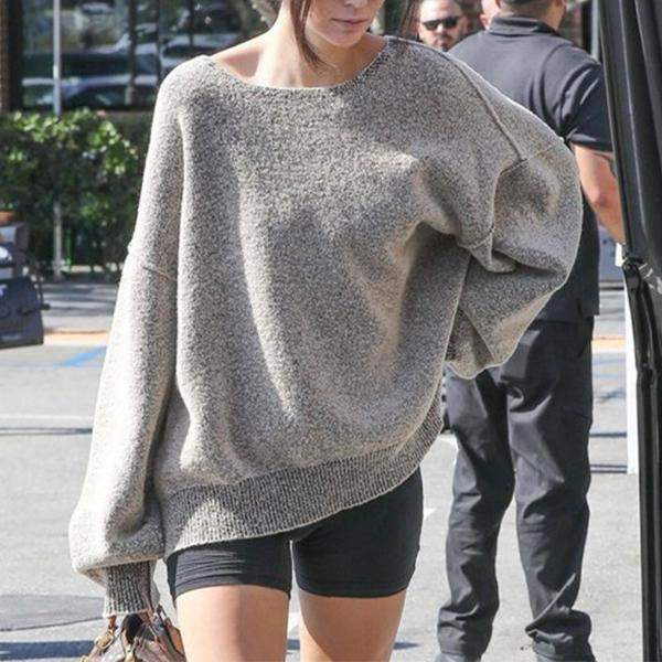 Knitted Loose Casual Sweater