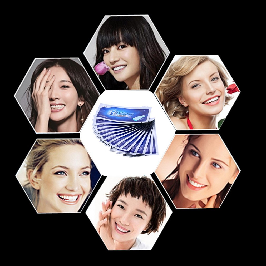 3D Advanced Ultra White Routine Whitening 14 Pairs Strips Dental Bleaching