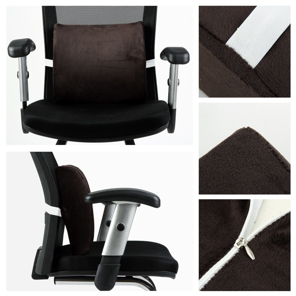 Lumbar Support Cushion Office Pillow for Relaxing Driving Relieve Pressure