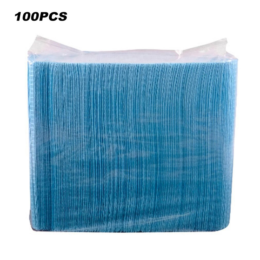 100pcs Disposable Tattoo Clean Pad Cloth Waterproof Tablecloths Mat Sheets