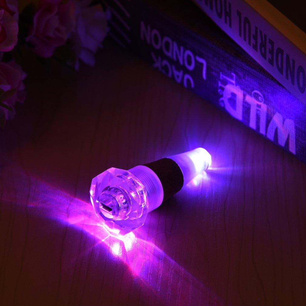Diamond LED Cap Light Rechargeable USB LED Night Light Wine Bottle Lamps