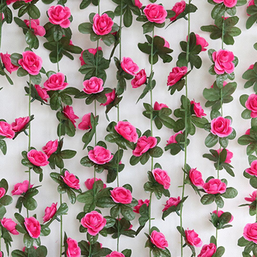 1Pc Artificial Flower Vine Garland Garden DIY Party Home Office Wedding Decor