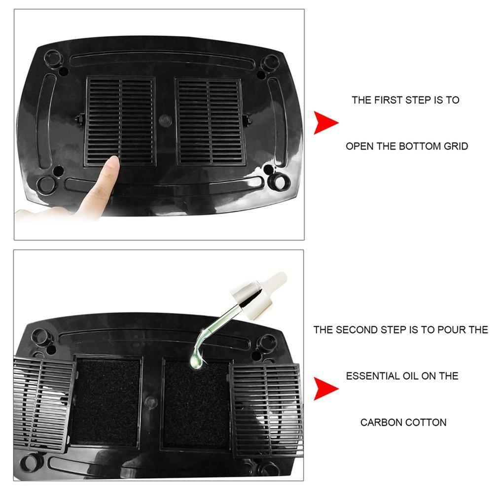6L Home Office Air Humidifier Ultrasonic Mechanical Cool Mist Steam Nebuliser