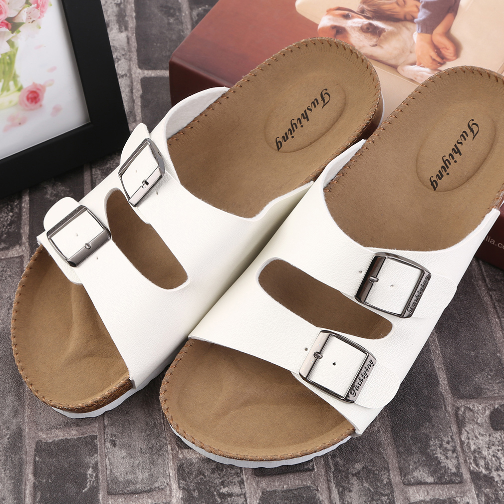 Casual Men's Outdoor Sports Slippers Flat Beaches Double-Breasted Sandals