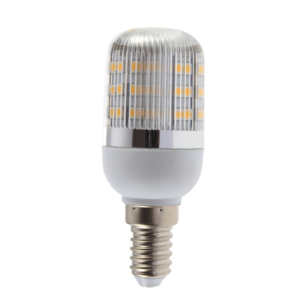E14 2.5W 48 LED Warm White 220V Corn Lamp With Streak Cover