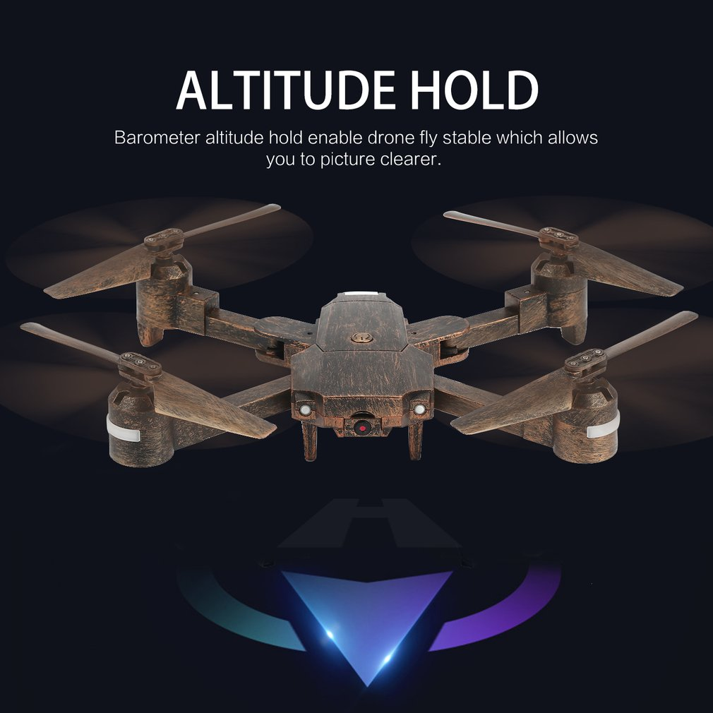 Attop X-PACK1 2.4G RC Drone with FPV Camera Foldable Altitude Hold Quadcopter