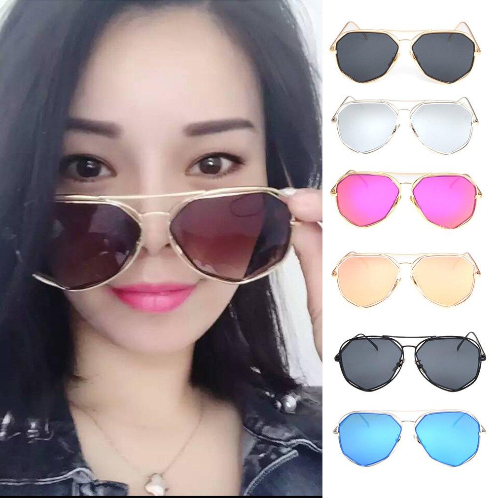 Unique Design Fashion Sunglasses Unisex Sun Shades Color Film Glasses