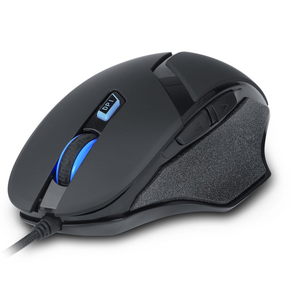 Delux M612 Gaming Mouse Gamer Mice USB Wired Ergonomics Computer Peripherals