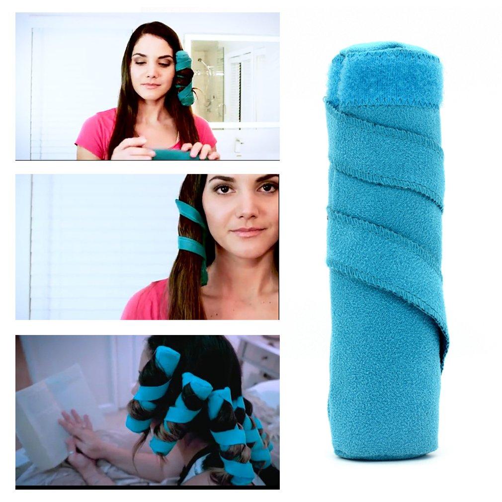 8Pcs Sleeping Hair Styler Hair Curlers Long Hair Rollers Spiral Curls Maker