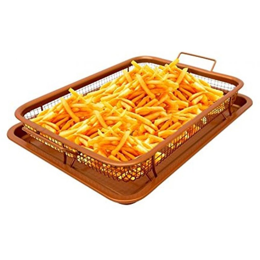 Fry French Chef Holder Kitchen Fry French Chef Basket Cooking Crispy Tray