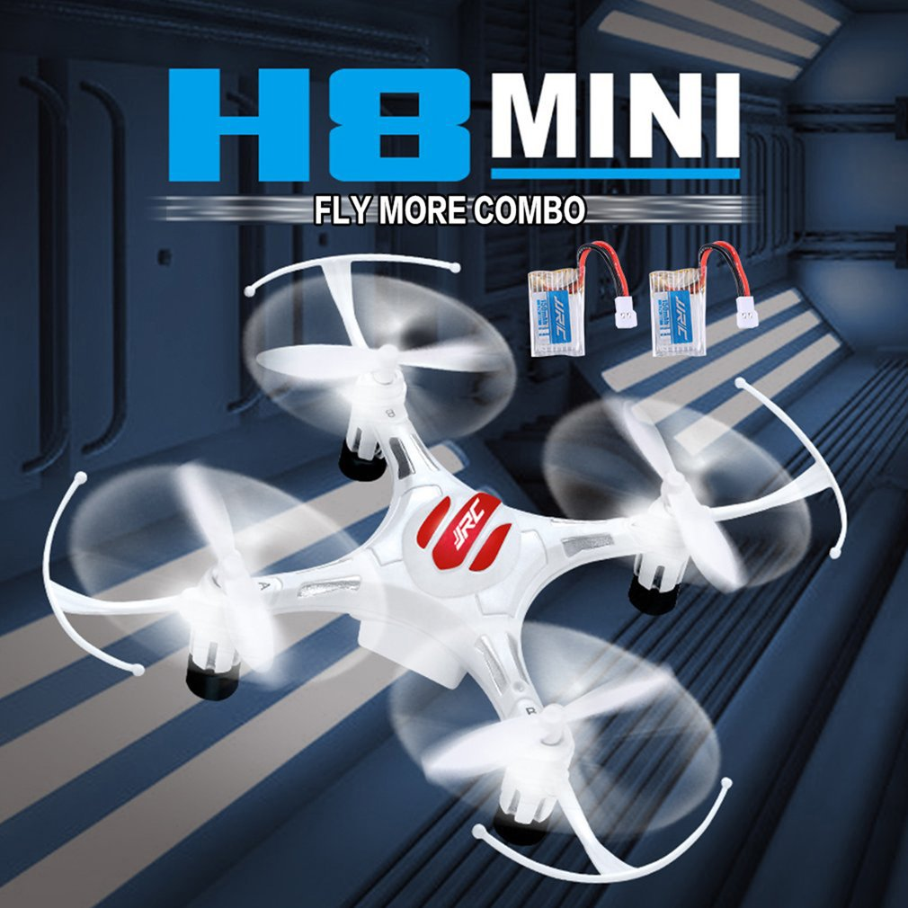 JJR/C H8 Mini 2.4G RC Drone Quadcopter with 2 Batteries Combo Headless Mode