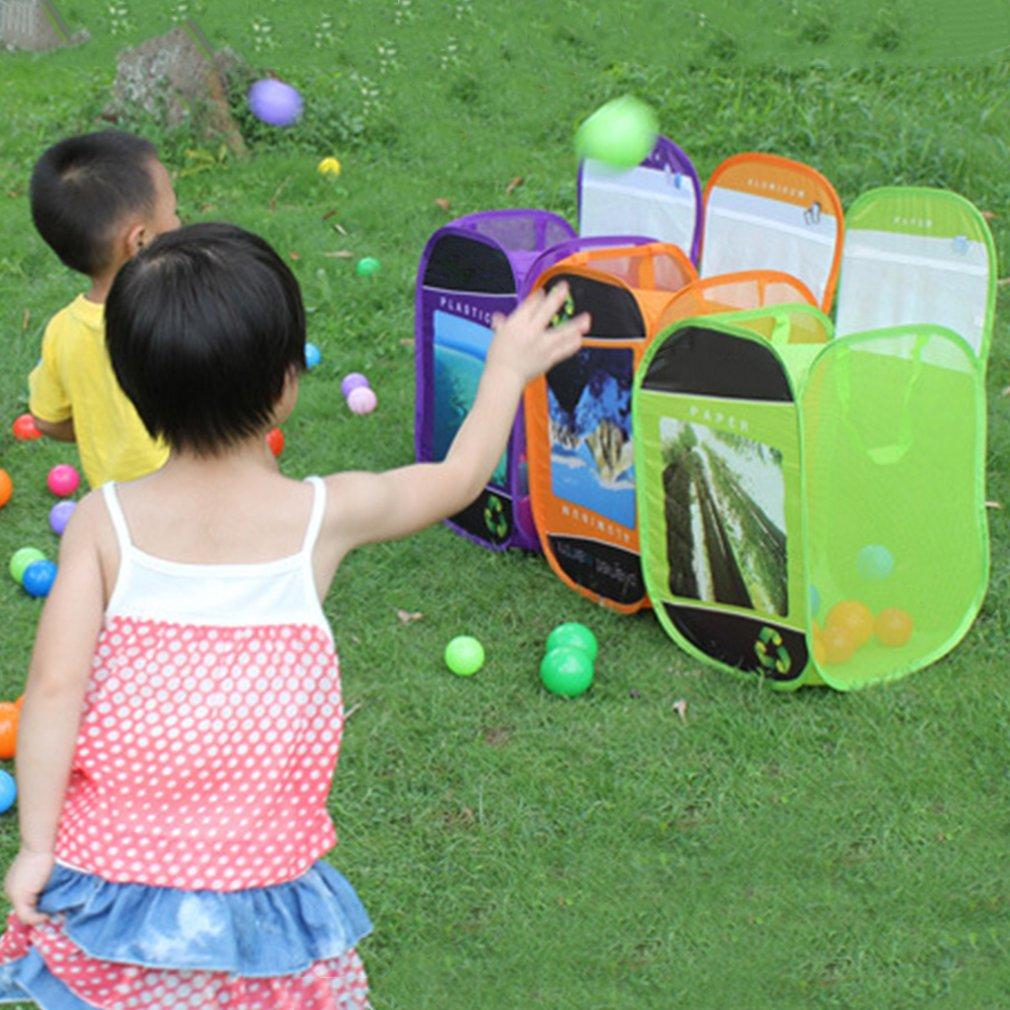 Foldable Laundry Mesh Storage Bag Hamper Clothes Basket Pouch Organizer Green