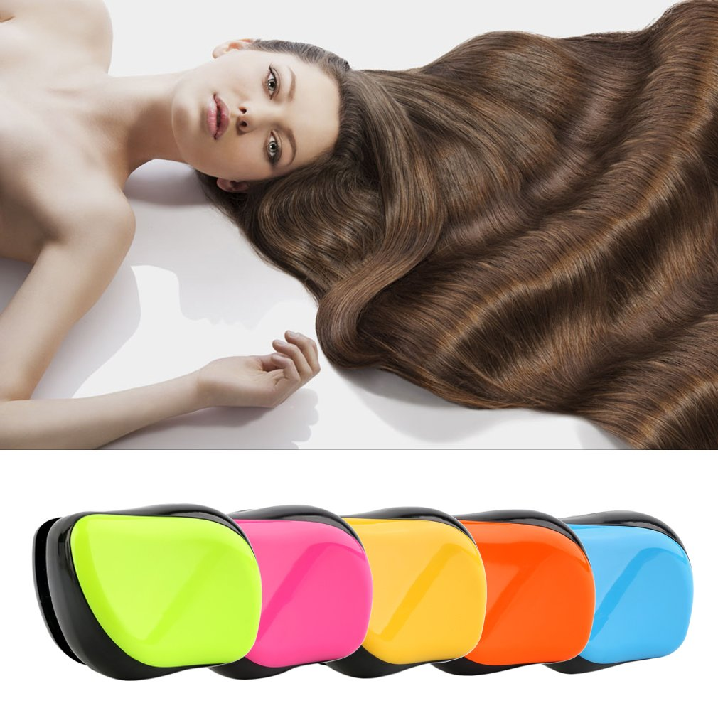 Portable Massage Anti-static Hair Detangling Styling Professional Comb Brush