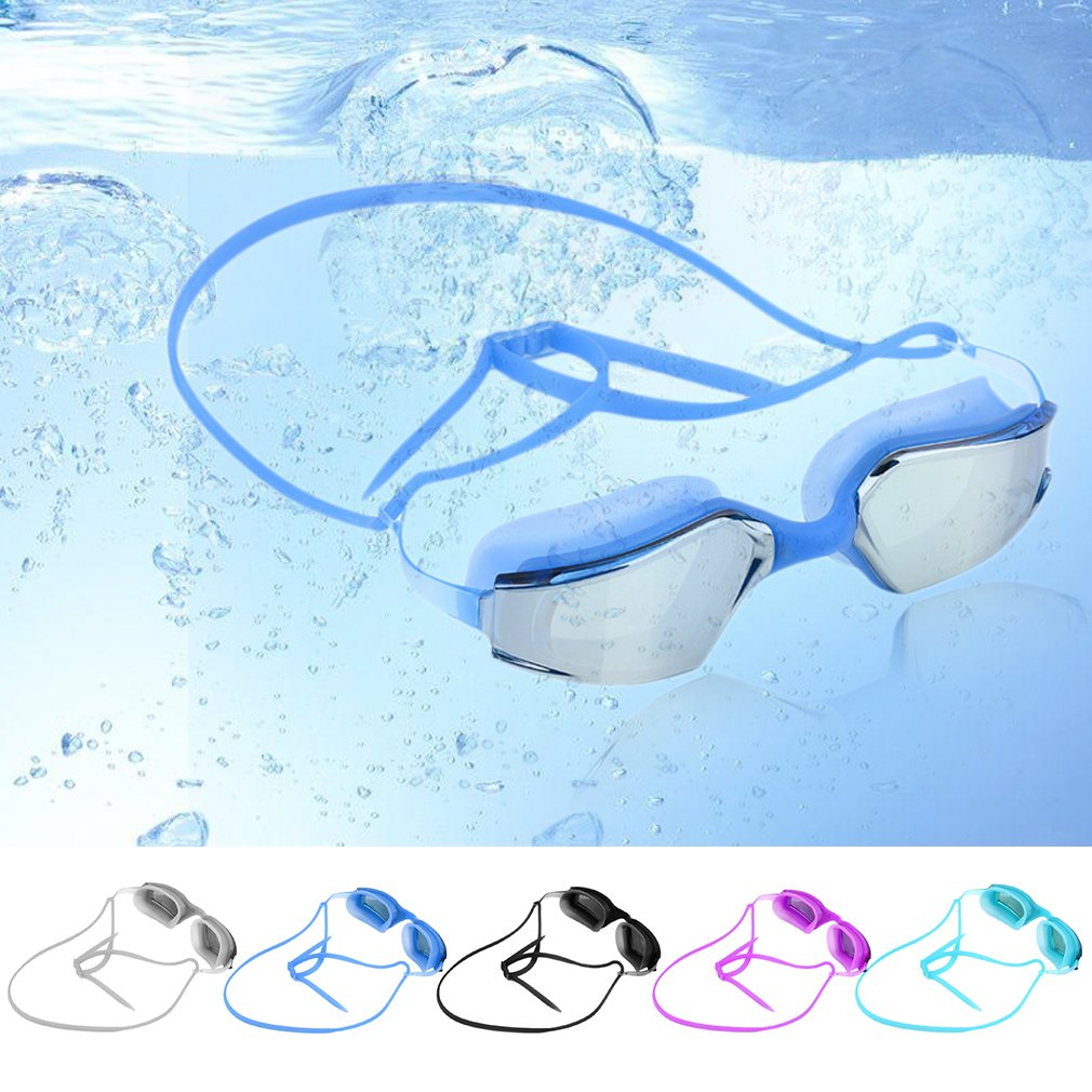 G-2600 Electroplating AntiFog Swim Goggles For Adult Waterproof Swim Glasses