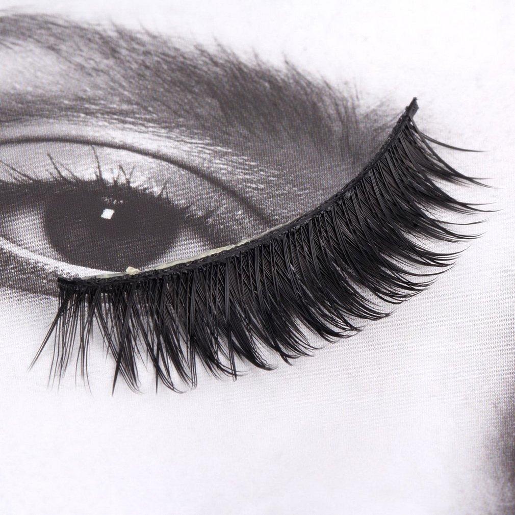 3 Pairs Soft Long Extension False Eyelashes Cosmetic Makeup Fake Eye Lash