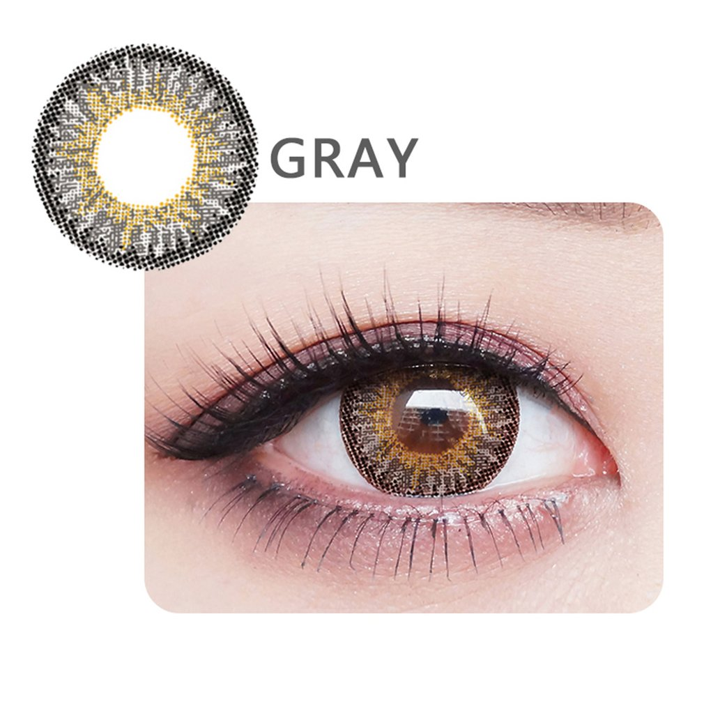 One Pair/set Charming Clear Fresh Moisture Coloured Cosmetic Contact Lenses