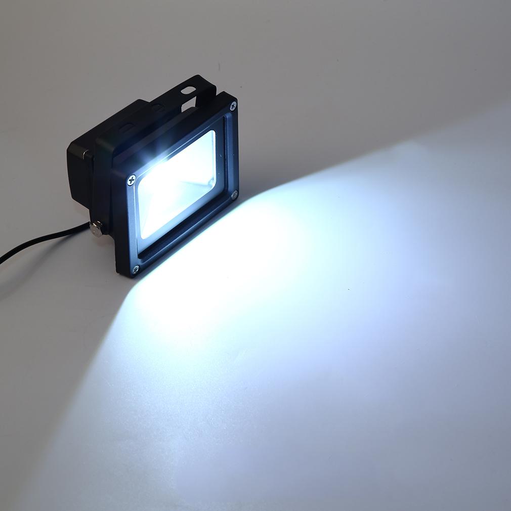 9V 3W Solar Panel Power LED Floodlight Lamp Garden Outdoor Light Waterproof