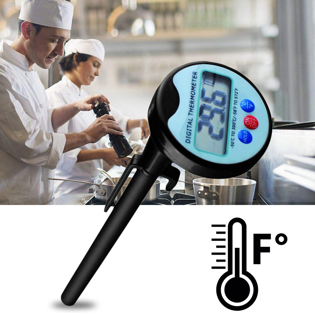 Digital Humidity Temperature Meter with Probe & LCD Display for Food Processing