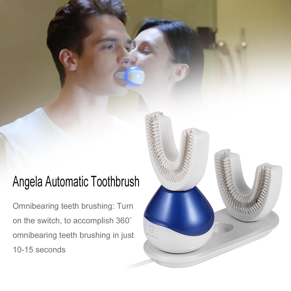 Automatic Toothbrush in 15 Seconds 360˚ Oral Cavity Spa with U Type Brushhead