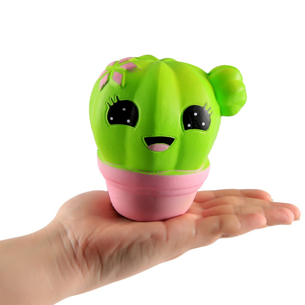 Kawaii Soft Plant Cactus Shape Slow Rising Toy for Relieves Stress Toy