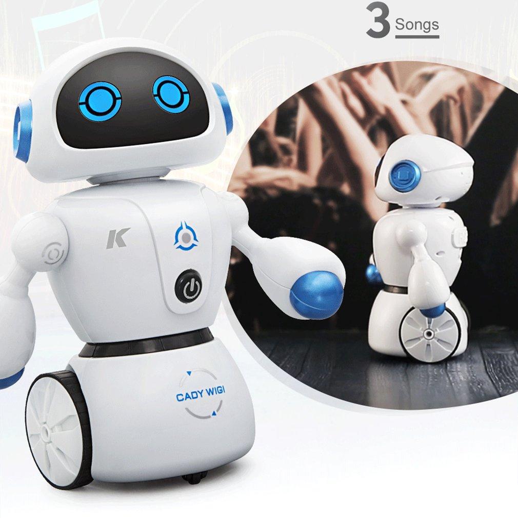 Intelligent Cady Wigi JJRC R6 Remote Control Programmable Dancing USB RC Robot