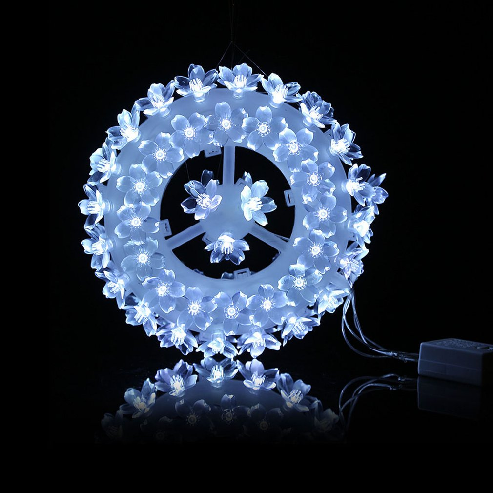 LED Modelling Light Sculpt Lamp Round Shape Festival Decoration 87 Wintersweets