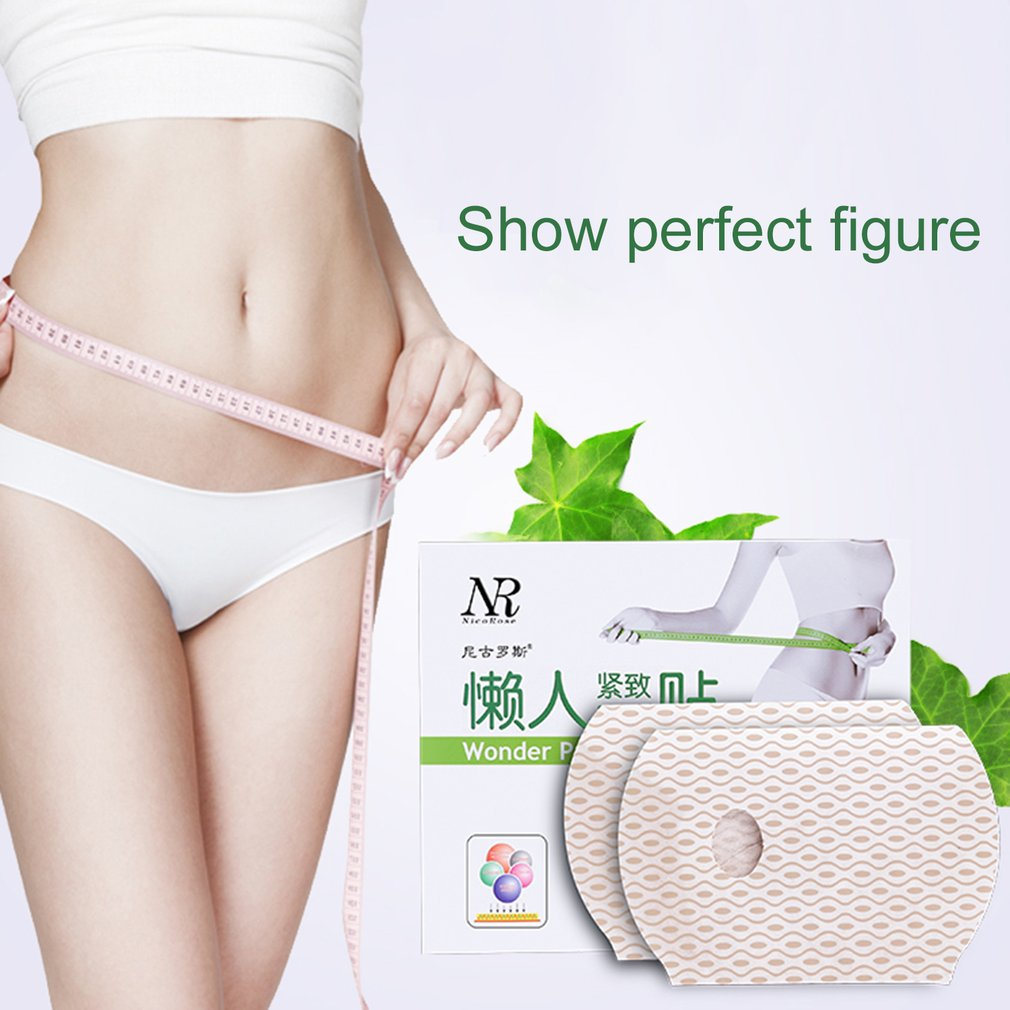 3PCS Lady Slimming Plaster Abdomen Treatment Patch Perfect Body Forming Paste