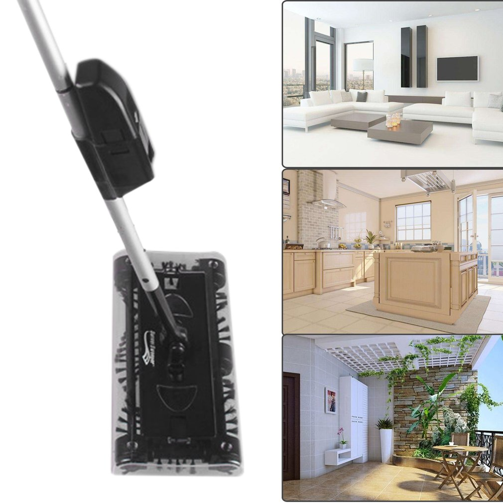 Electric Manual Push Hand Held House Broom Robot Cleaner Home Wireless Sweeper