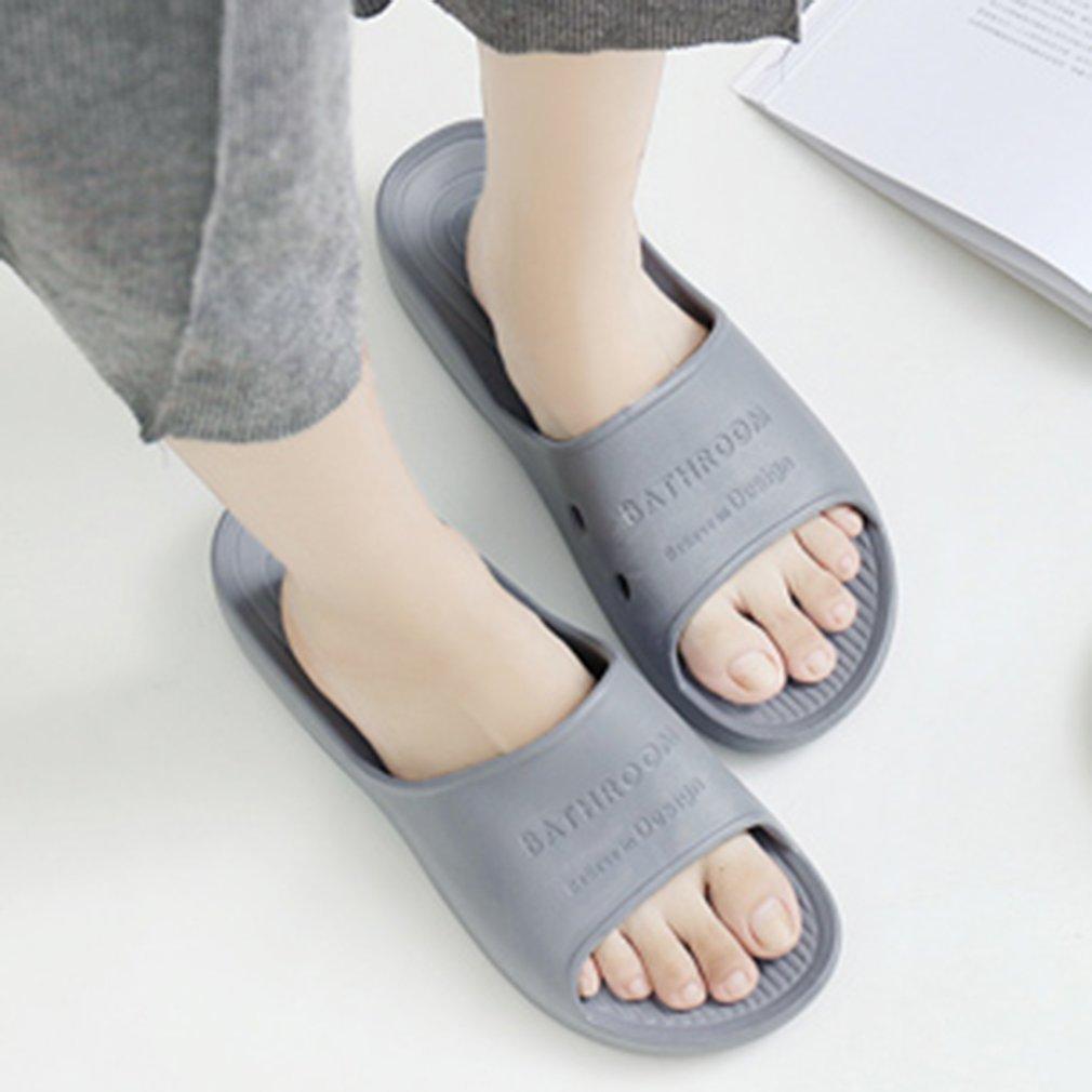 Comfortable Soft EVA Men Slippers Summer Indoor Home Non-slip Slippers Household Bathroom Slippers Beach Slippers