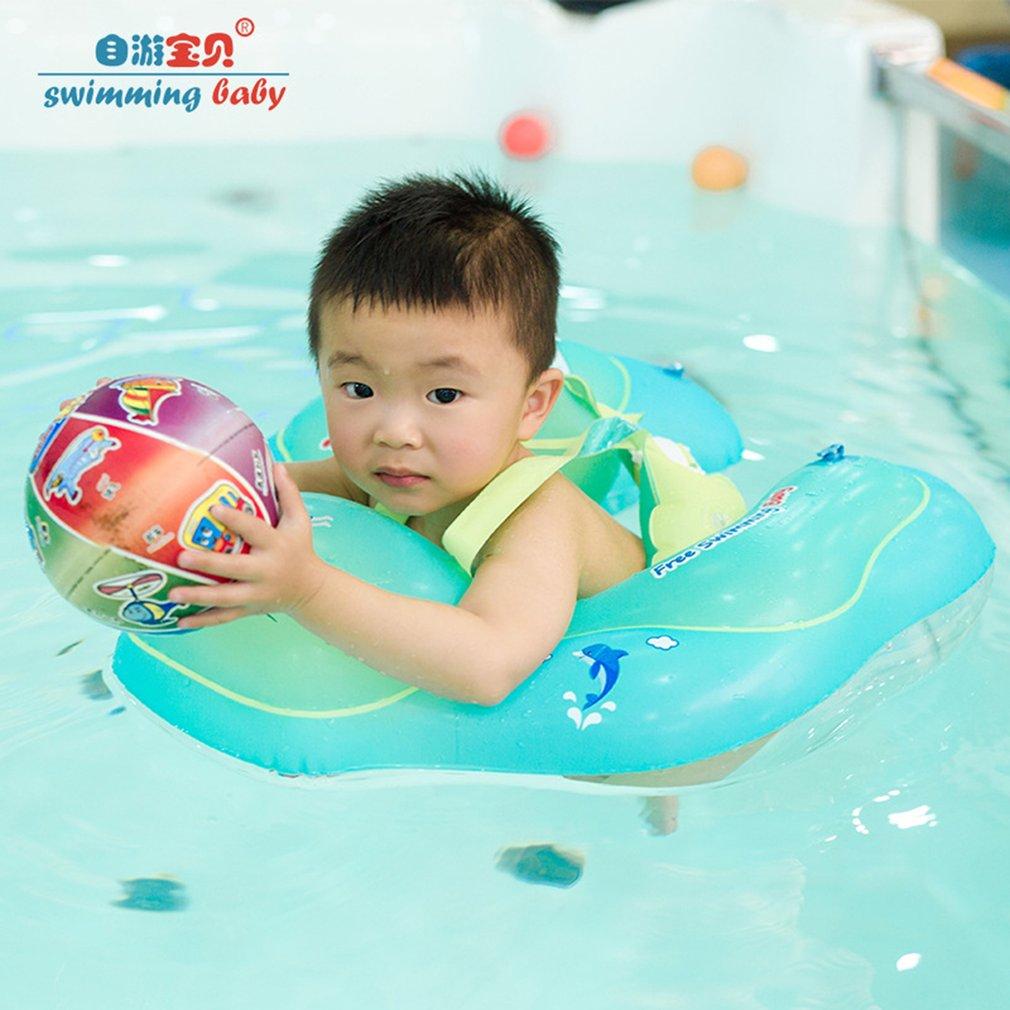 Free Swimming Baby Inflatable Swim Ring Infant Floating Kids Bathing Ring