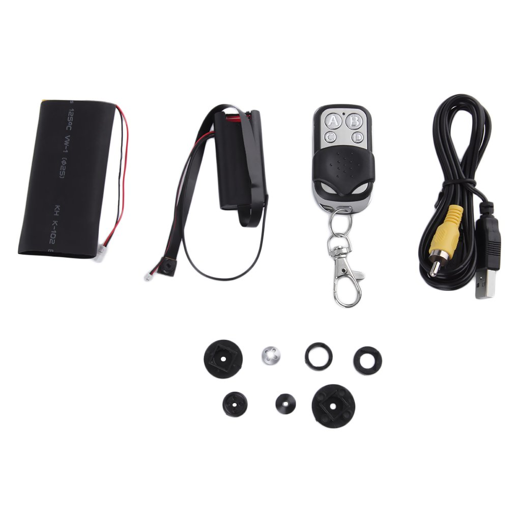 Black Box HD 1080P DIY Module Camera Video DV DVR w/Battery & Remote Control