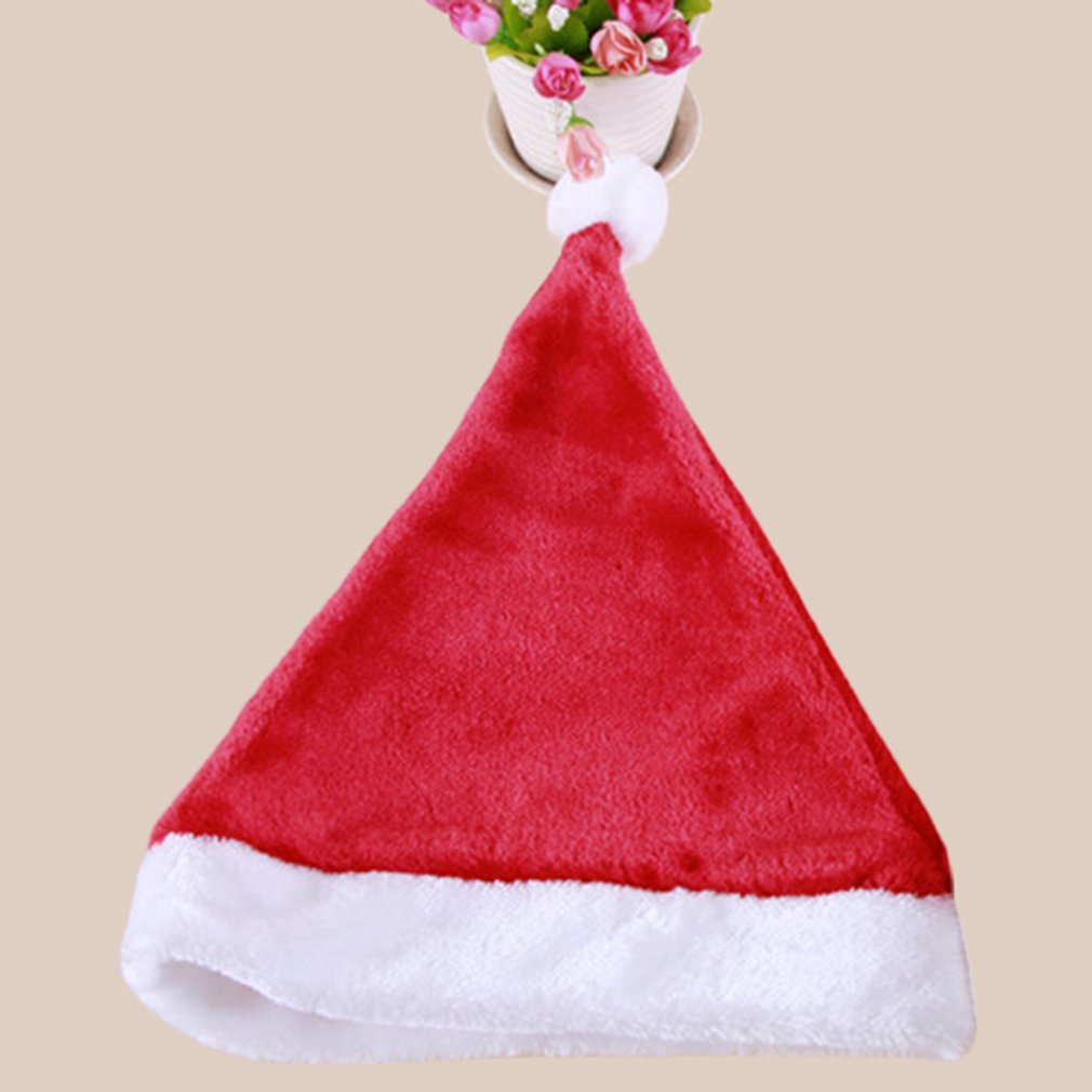 Red Santa Claus Fancy Dress Easter Christmas Party Hat Cap Adult Size New