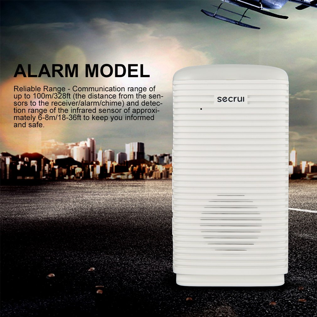 SECRUI DW9 Wireless Security Alarm Waterproof PIR Motion Sensor Detector System