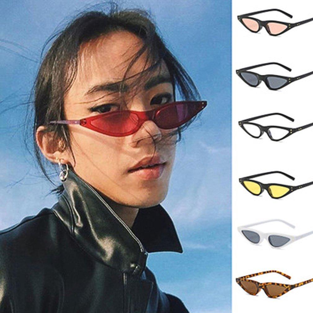 Vintage Design Women Cat's Eye Sunglasses Special Female PC Frame UV Protective Eyewear Glasses for Ladies