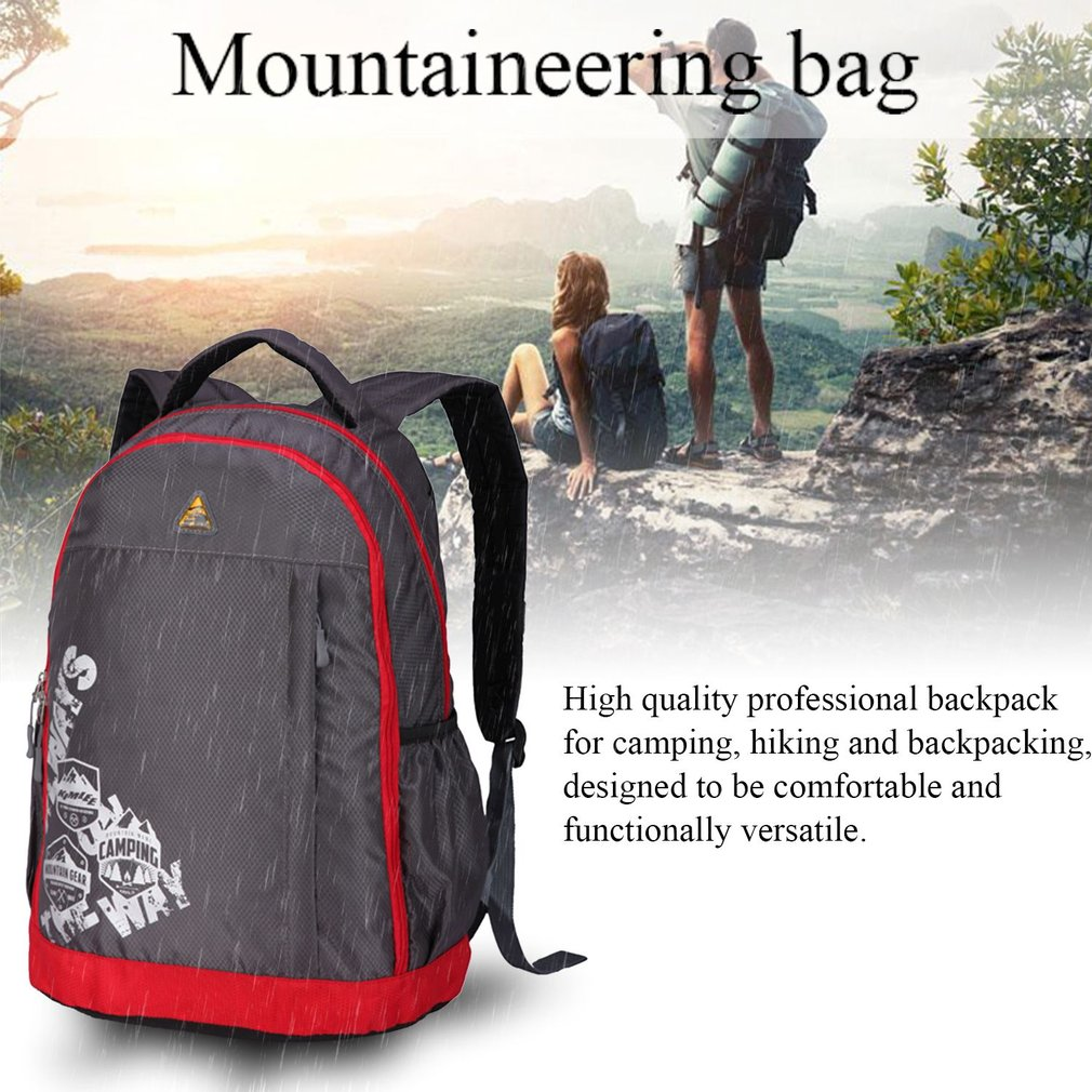 Fashion Mountaineering Backpack Multifunctional Portable Outdoor Necessities