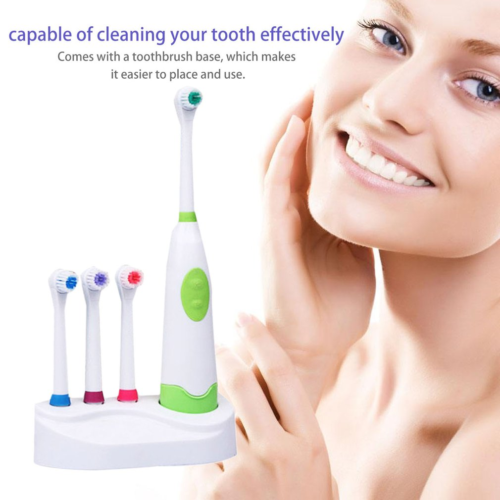 Revolving Electric Toothbrush Battery Electric Toothbrush Tooth Cleaning