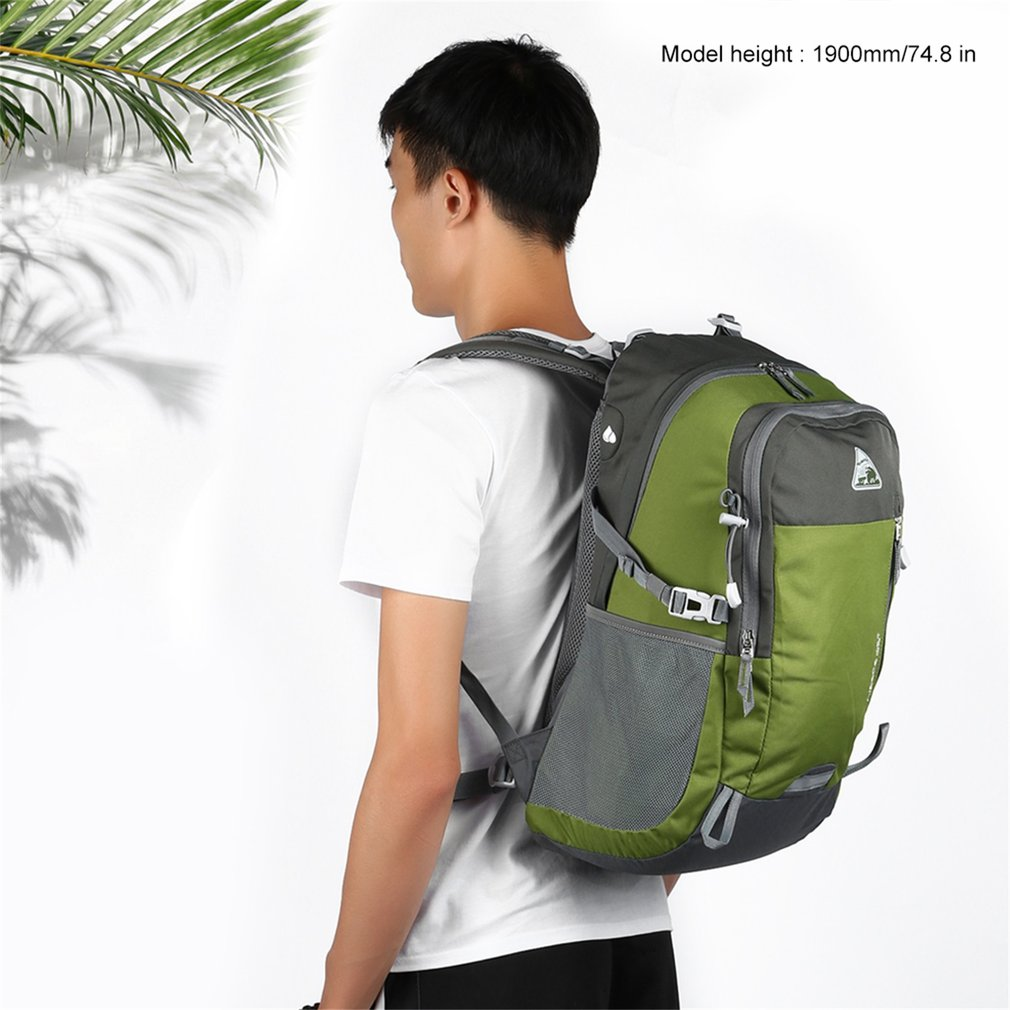 KIMLEE Outdoor Travel Waterproof Shoulder Bag Mountaineering Backpack 35L