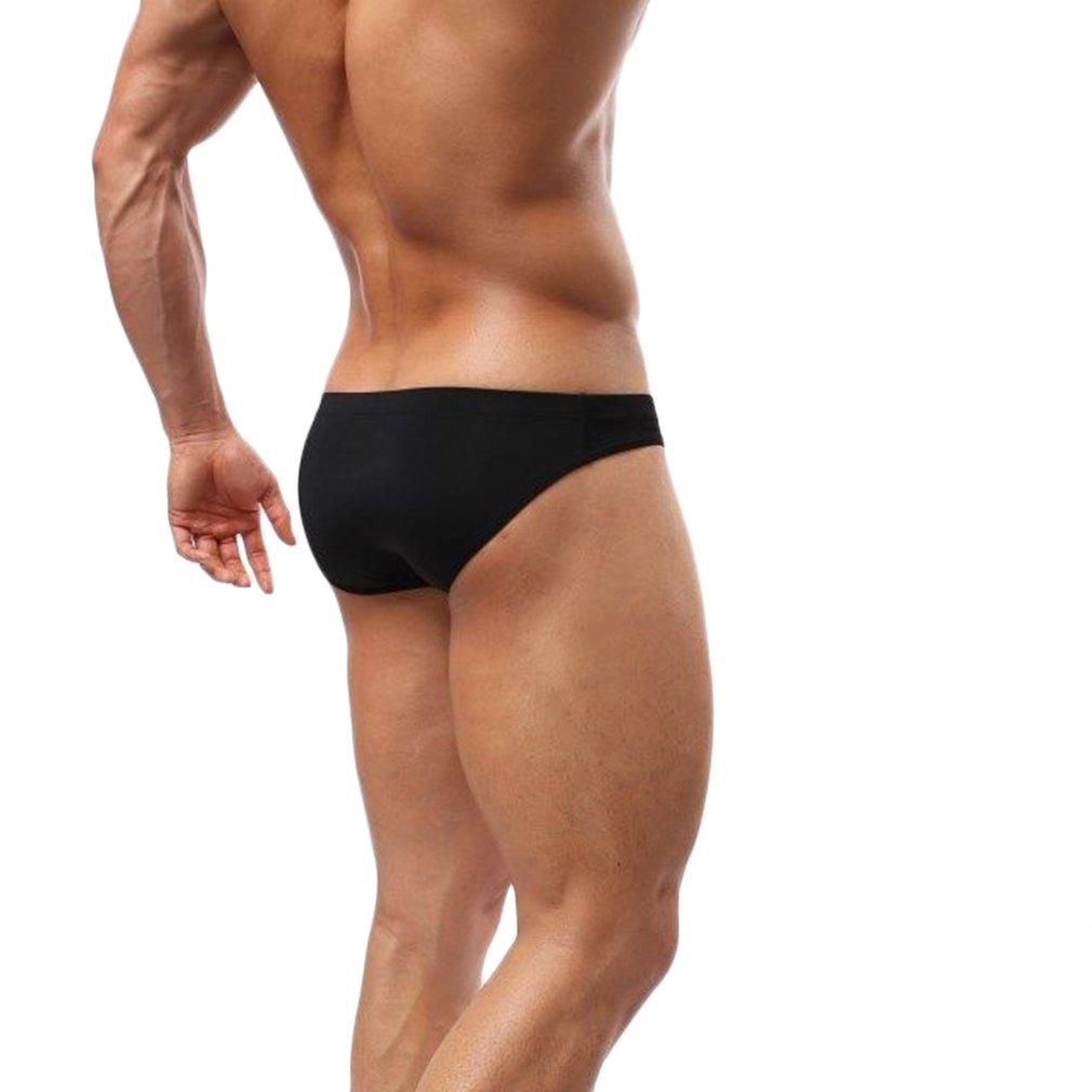 Mens Swim Sports Shorts Trunks Underwear Briefs Silky Sheer Fabric Smooth