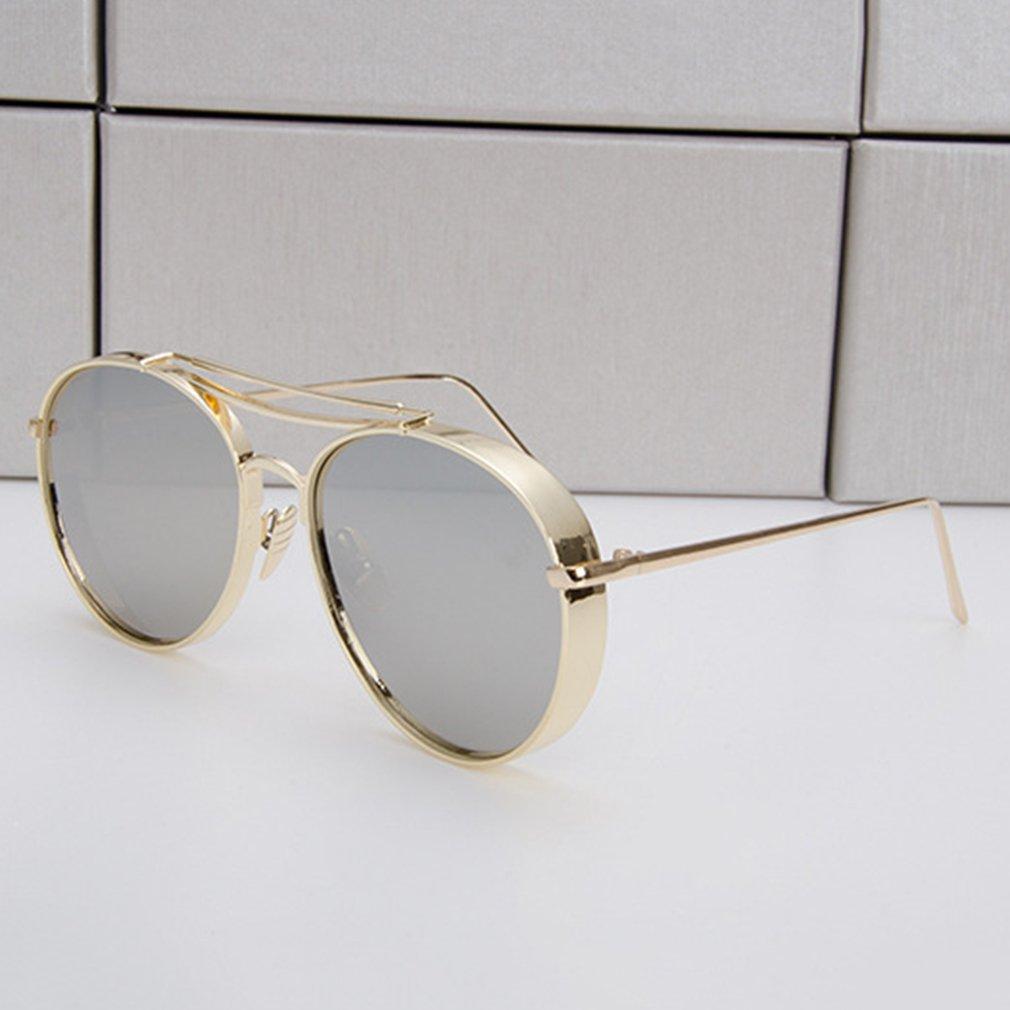 Unique Design Fashion Sunglasses Unisex Sun Shades Metal Frame Glasses