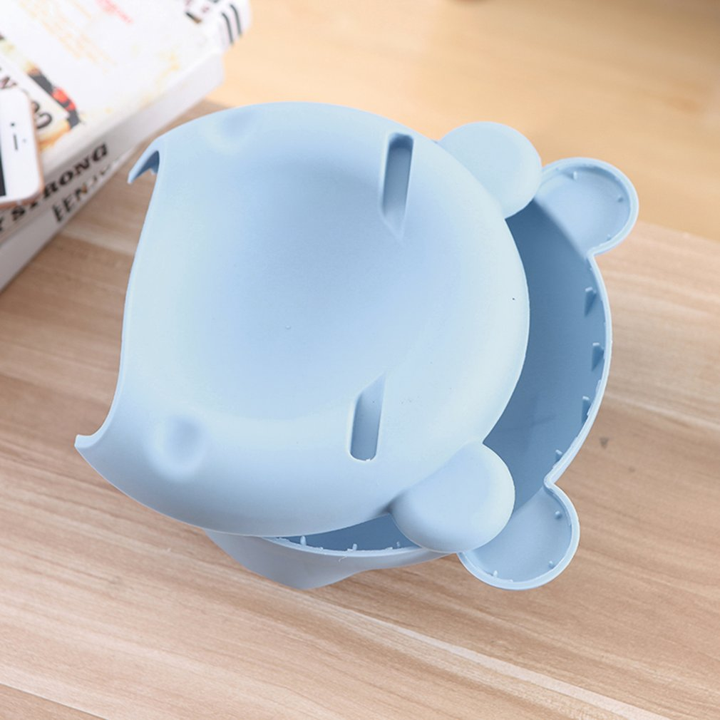 Multifunctional Big Bear Fruit Box Two Layers Smart Phone Stand Holder