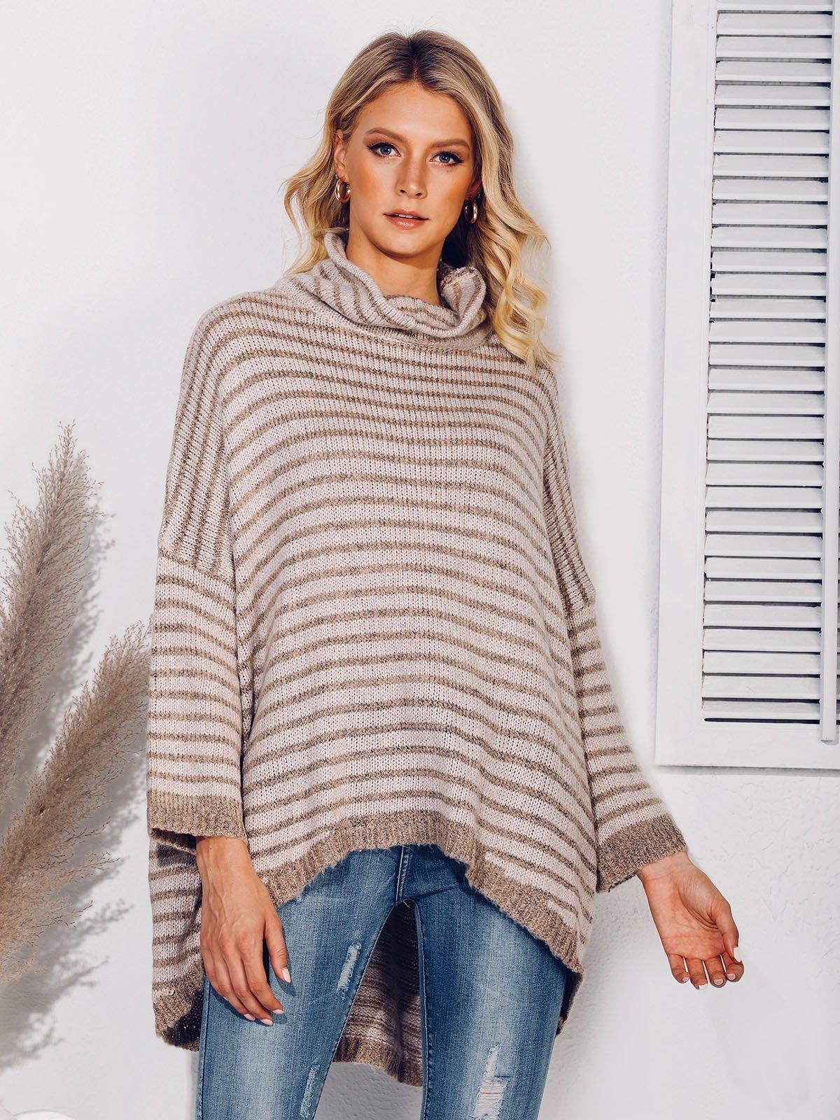 Casual Turtleneck Sweater