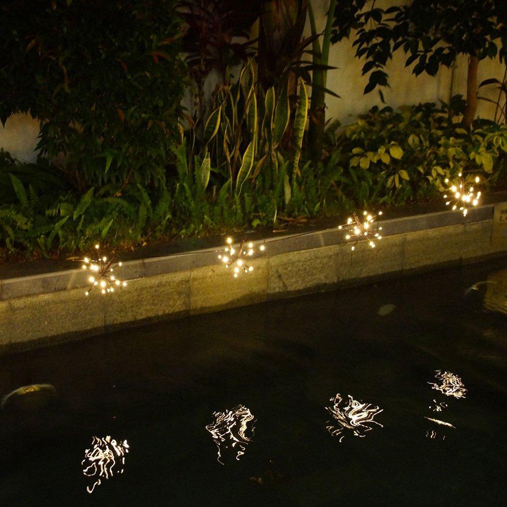 Waterproof Explosion Ball Garden Tree String Light with 5pcs Balls & 100 LEDs
