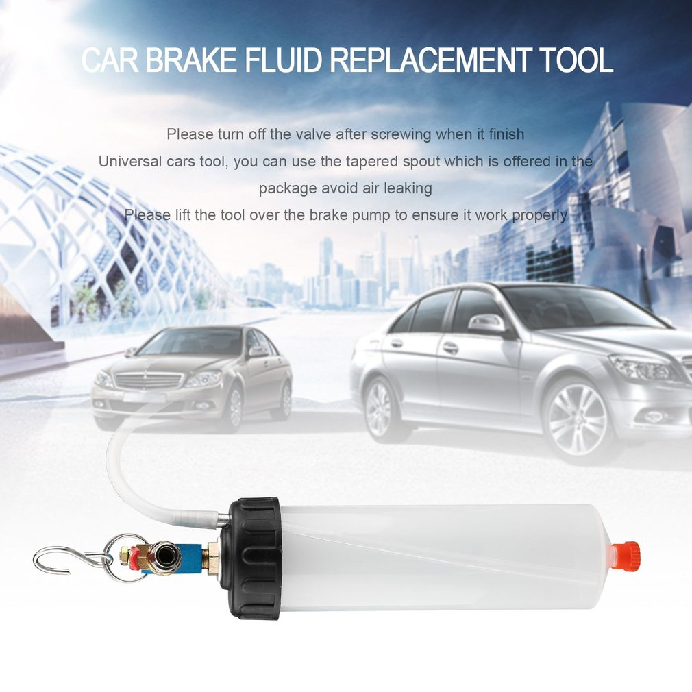 Auto Car Brake Fluid Replacement Tool Brake Fluid Drained Bleeder Car Tool