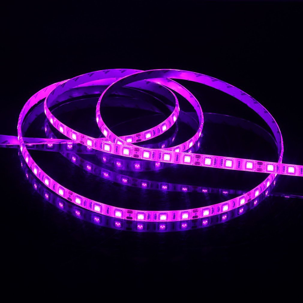 Waterproof SMD 5050 5M LED Strip Light Combo With Power Supply Adapter 5A