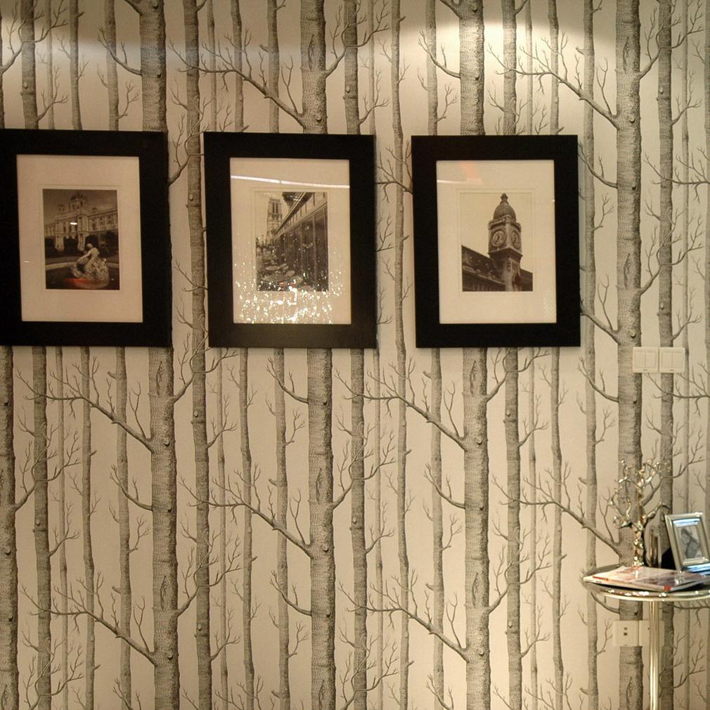 Branches 3D Mural Wallpaper Roll Modern Vinyl Wall Paper for Living Room Home