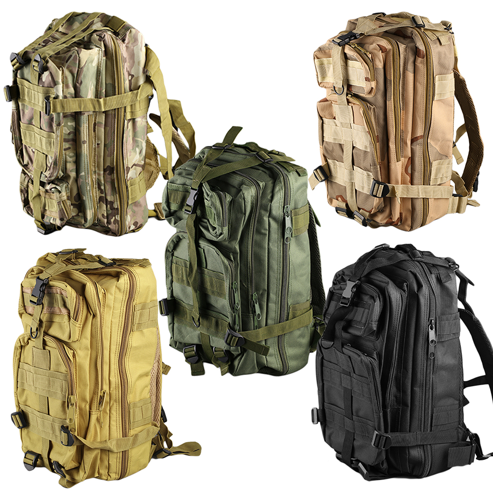 Outdoor Multifunctional Sports Camping  Hiking Bag Military Tactical Backpack